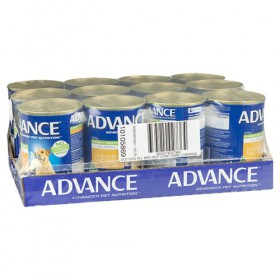 Advance Dog Adult Healthy Weight Chicken and Rice 405g x 12