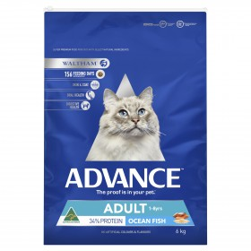 Advance Cat Adult Ocean Fish with Rice 6kg
