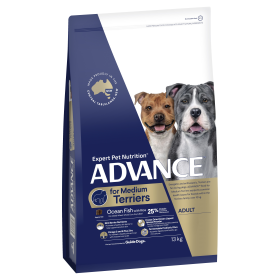 Advance Dog Adult Medium Breed Terriers Ocean Fish with Rice 13kg