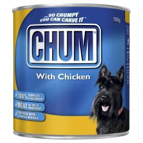 Chum Dog Adult Chicken 700g x 12
