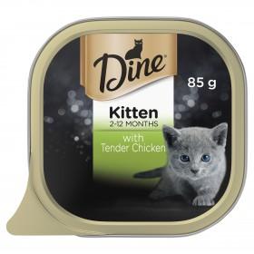 Dine Cat Kitten Tender Chicken 85g x 14