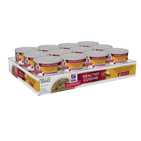 Hill's Science Diet Cat Adult Healthy Cuisine Roasted Chicken & Rice Medley 79g x 24