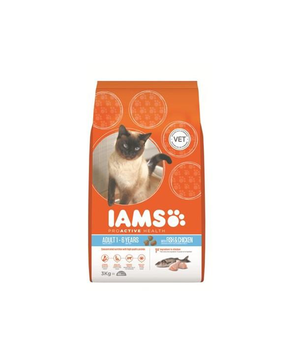 IAMS CAT OC FISH 3KG