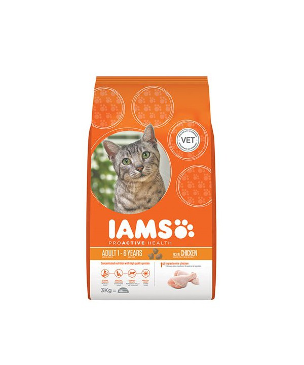 IAMS CAT CHK 3KG