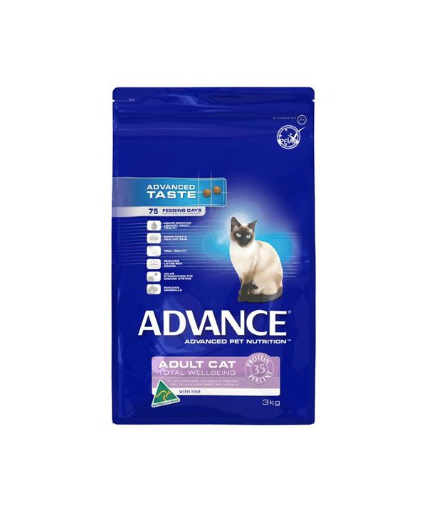 ADV CAT ADULT TWB FISH 3KG
