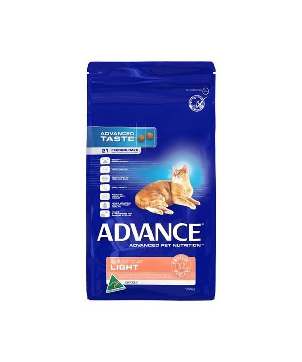 ADV CAT ADULT LIGHT CHK 1.5KG