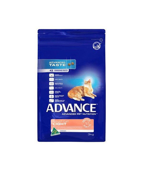 ADV CAT ADULT LIGHT CHK 3KG