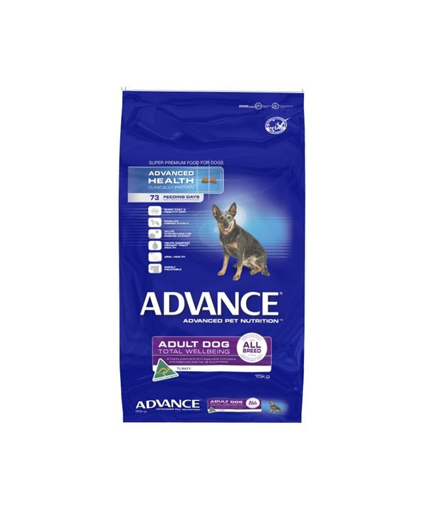 ADV DOG ADULT TWB ALL BR TURK RICE 15KG