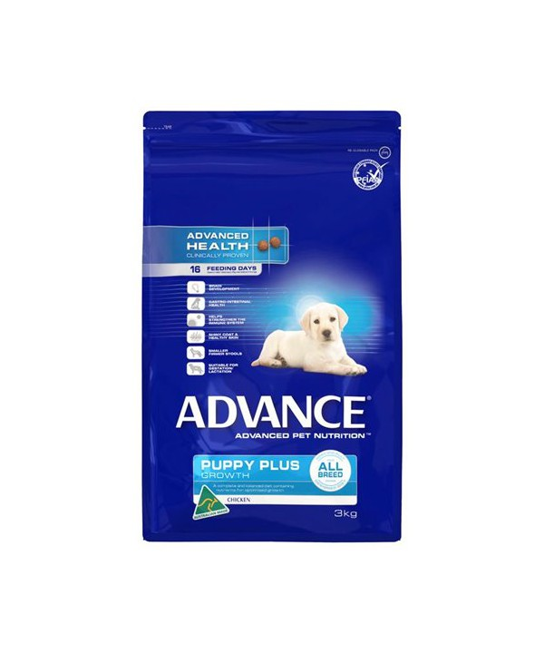 ADV PUPPY PLUS GROWTH ALL BR CHK 3KG