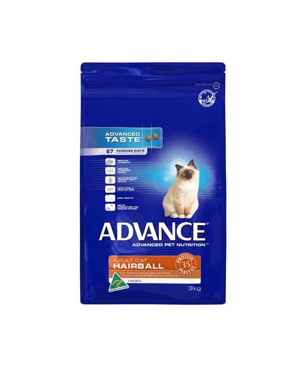 ADV CAT ADULT HAIRBALL CHK 3KG