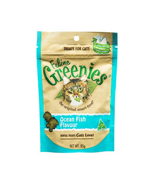 FELINE GREENIES OC FISH 85GX12
