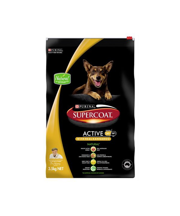 SUPERCOAT DF ACTIVE ROO 3.5KG