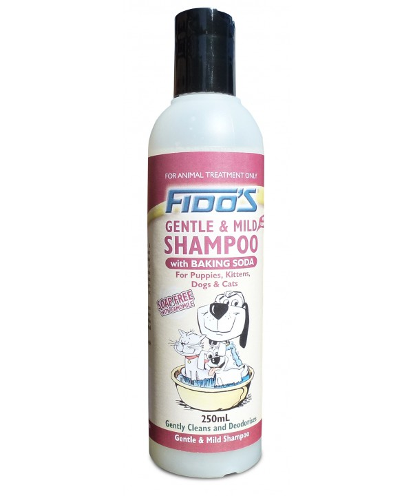 FIDOS GENTLE AND MILD SHAMPOO -W BAKING SODA- 250ML