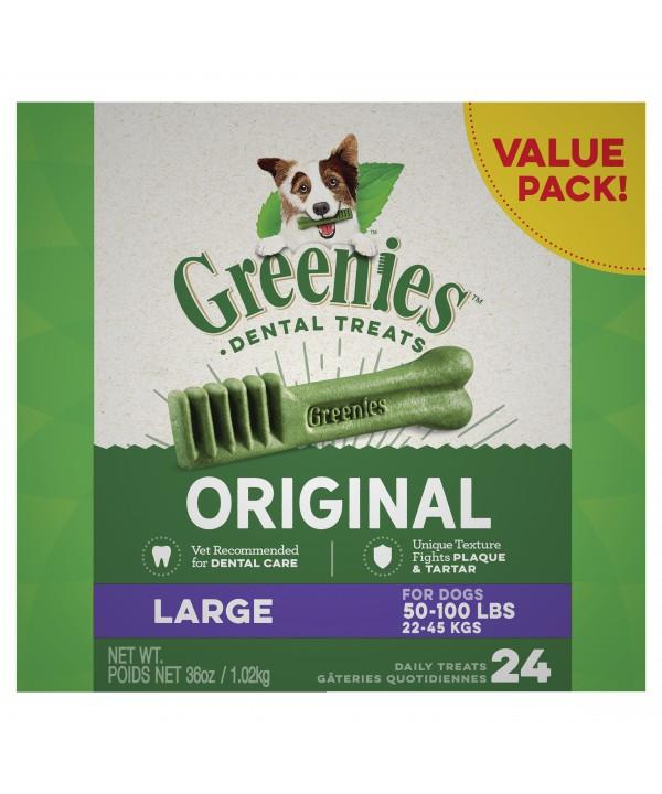 Greenies Dog Treat Value Large 1kg