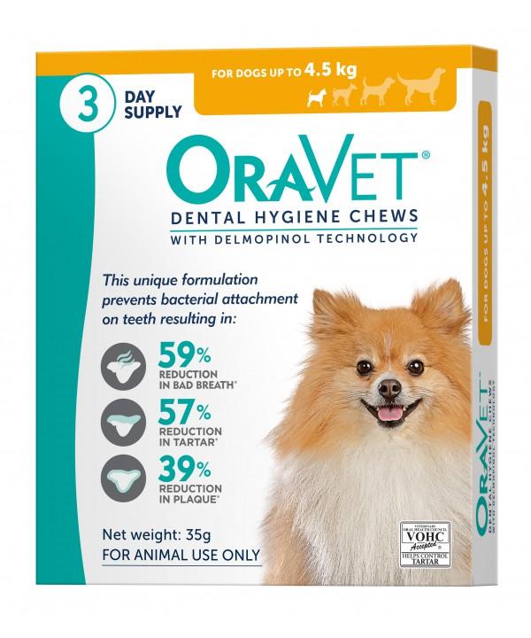Oravet Dental Chew Extra Small Dog - 3pk