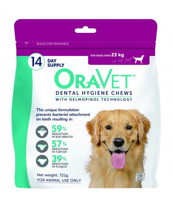 Oravet Dental Chew Large Dog - 14pk