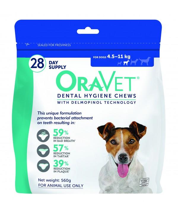 Oravet Dental Chew Small Dog - 28pk