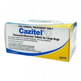 Cazitel Dog 35kg Blue - 42pk