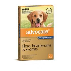 ADVOCATE DOG LARGE 1 x 2.5ML