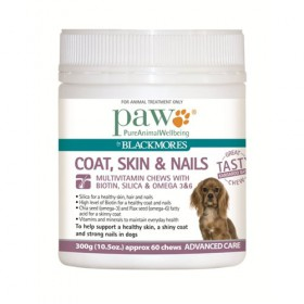 PAW Coat Skin Nails Chews 300g