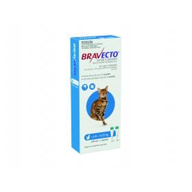 BRAVECTO CAT F&T S/O MED 2.8 - 6.2kg BLUE 2PK