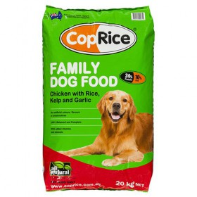 CopRice Dog Adult Family Dog Chicken Veg & Brown Rice 20kg