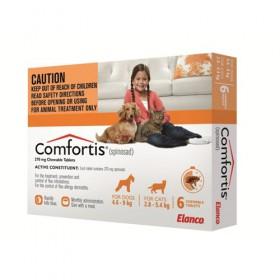 Comfortis Dog Small 4.6-9kg Orange - 6pk