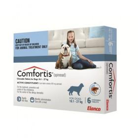Comfortis Dog Large 18.1-27kg Blue - 6pk