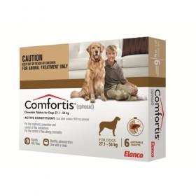 Comfortis Dog Extra Large 27.1-54kg Brown - 6pk