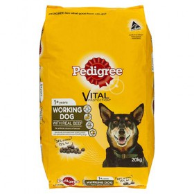 Pedigree Dog Adult Working Dog Formula 20kg