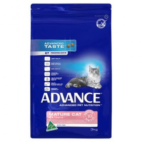 ADV CAT MATURE -SENIOR- FISH 3KG