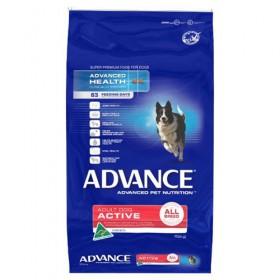 ADV DOG ADULT ACTIVE ALL BR CHK 15KG