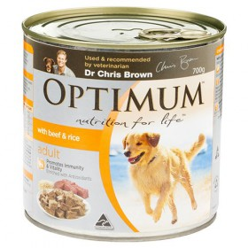 OPTIMUM DOG BF EGG RICE 700GX12