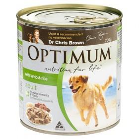 OPTIMUM DOG LAMB AND RICE 700GX12