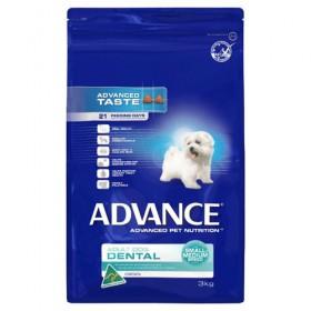 ADV DOG ADULT DENTAL SMALL~MEDIUM BR CHK 3KG