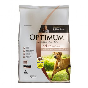 Optimum Dog Adult Large Breed Chicken 15kg