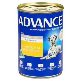 Advance Dog Adult Sensitive Chicken Rice 410g x 12
