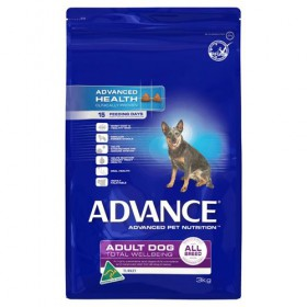 ADV DOG ADULT TWB ALL BR TURK RICE 3KG