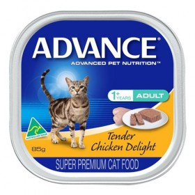 Advance Cat Adult Tender Chicken Delight 85gx7