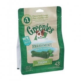 Greenies Dog Treat Mint Teenie 340g