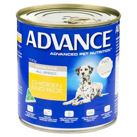 Advance Dog Adult Sensitive Chicken Rice 700g x 12