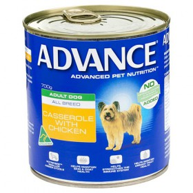 Advance Dog Adult Chicken Casserole 700g x 12