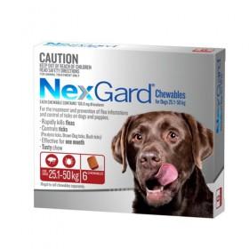 Nexgard For Dog Red 25.1-50kg 6pk