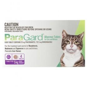 PARAGARD CAT 4 TAB < 5KG