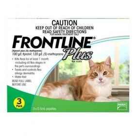 FRONTLINE PLUS CAT GREEN 3s