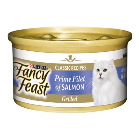 FANCY FEAST PRM FLT SLMN 85Gx24