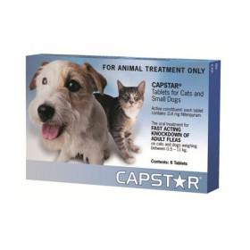 Capstar 11mg Cat/Small Dog Blue 6pk