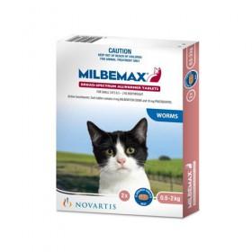 MILBEMAX FLAVD TAB CAT 0.5-2KG 2s