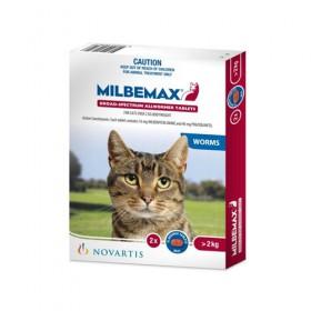 MILBEMAX FLAVD TAB CAT > 2KG 2s