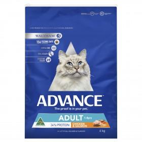 Advance Cat Adult Chicken Salmon 6kg